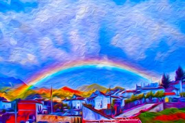 Rainbow from terrace 1 oil 100 150 poster.jpg